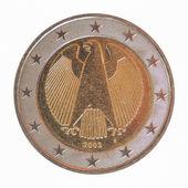 Německé euromince — Stock fotografie