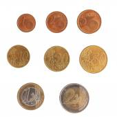 Euro coins series — Stock Photo