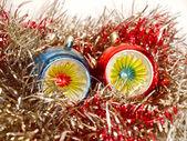 Retro look Christmas decoration — Стоковое фото