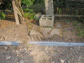 Corrugated pipe — Stock Photo