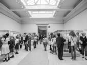 Black and white British Museum London — Stock Photo