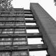 Black and white Balfron Tower in London — Stock Photo #57851577