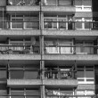 Black and white Trellick Tower in London — Stock Photo #57969083