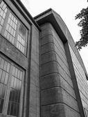 Svarta och vita aeg turbinenfabrik — Stockfoto