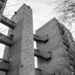 Black and white Balfron Tower in London — Stock Photo #58013535