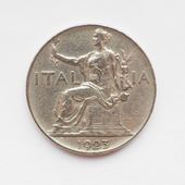 Old Italian coin — Stock Photo