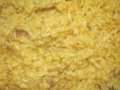 Safran pirinç — Stok fotoğraf