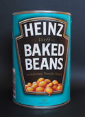 Heinz backed beans — Stock Photo