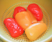Peppers grönsaker — Stockfoto