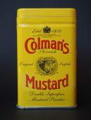 Colmans Mustard — Stock Photo