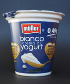 Mueller Yoghurt — Stock Photo