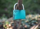Love lock — Stock Photo