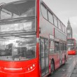 Red Bus in London — Stockfoto #65831291