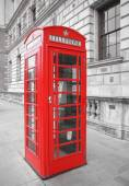 Londen-telefooncel — Stockfoto