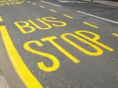 Przystanek autobusowy — Zdjęcie stockowe
