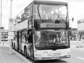 BGV Bus in Berlin — Stock Photo