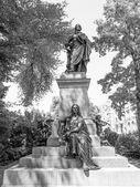 Mendelssohn Denkmal Leipzig — Zdjęcie stockowe