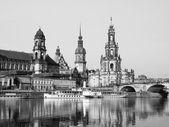 Dresden Hofkirche  — Stockfoto
