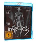 Metropolis bluray — Stock Photo