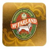 Beermat drink coaster isolated — Stock Photo