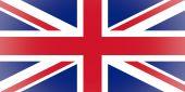 UK Flag vignetted — Stock Photo