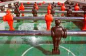 Retro look Table football — Stock Photo