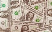 Retro look Dollar notes 1 Dollar — Stockfoto