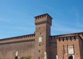 Castello Sforzesco Milan — Stock Photo