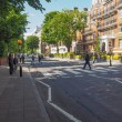 Постер, плакат: Abbey Road crossing in London