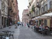Piazza Carignano in Turin — Stock Photo