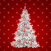 Christmas, tree — Stock Vector
