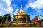 Wat Phra Sing temple in Chiang Rai, Thailand — Stok fotoğraf