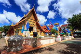 Wat Phra Sing temple in Chiang Rai, Thailand — Stock Photo