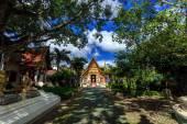 Wat Phra Sing temple in Chiang Rai, Thailand — Stock fotografie