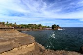 Old oriental temple, Tanah Lot, Bali, Indonesia. — Stock Photo