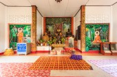 Interior of Wat Chet Yod  temple — Stock Photo