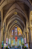 Interior of Stone Church. Nha Trang, Vietnam — Stock Photo