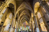 Interior of Stone Church. Nha Trang, Vietnam — Stok fotoğraf