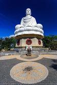 White Buddha Statue in Nha Trang, Vietnam — Stock Photo