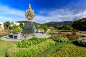 Ho Kham Luang - Royal Flora Ratchaphruek at sunny morning — Stok fotoğraf