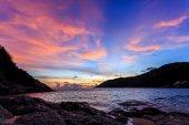 Sunset at Nai Harn Beach, Phuket — Stock Photo