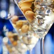 Martini cocktail in bar — Stock Photo #62116111