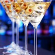 Martini cocktail in bar — Stock Photo #62116199