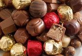 Sweet chocolate candies — Stock Photo