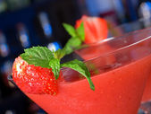 Cocktails Collection - Strawberry Daiquiri — 图库照片