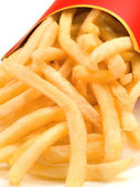 French fries close up — Stock Photo
