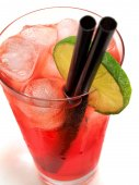 Cocktail   Long Beach Iced Tea — Stock Photo