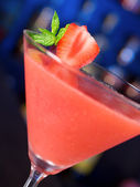 Cocktails Collection - Strawberry Daiquiri — Zdjęcie stockowe