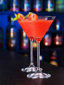 Cocktails Collection - Strawberry Daiquiri — Stock Photo