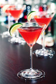 Cocktails collection - Cosmopolitan — Stock Photo